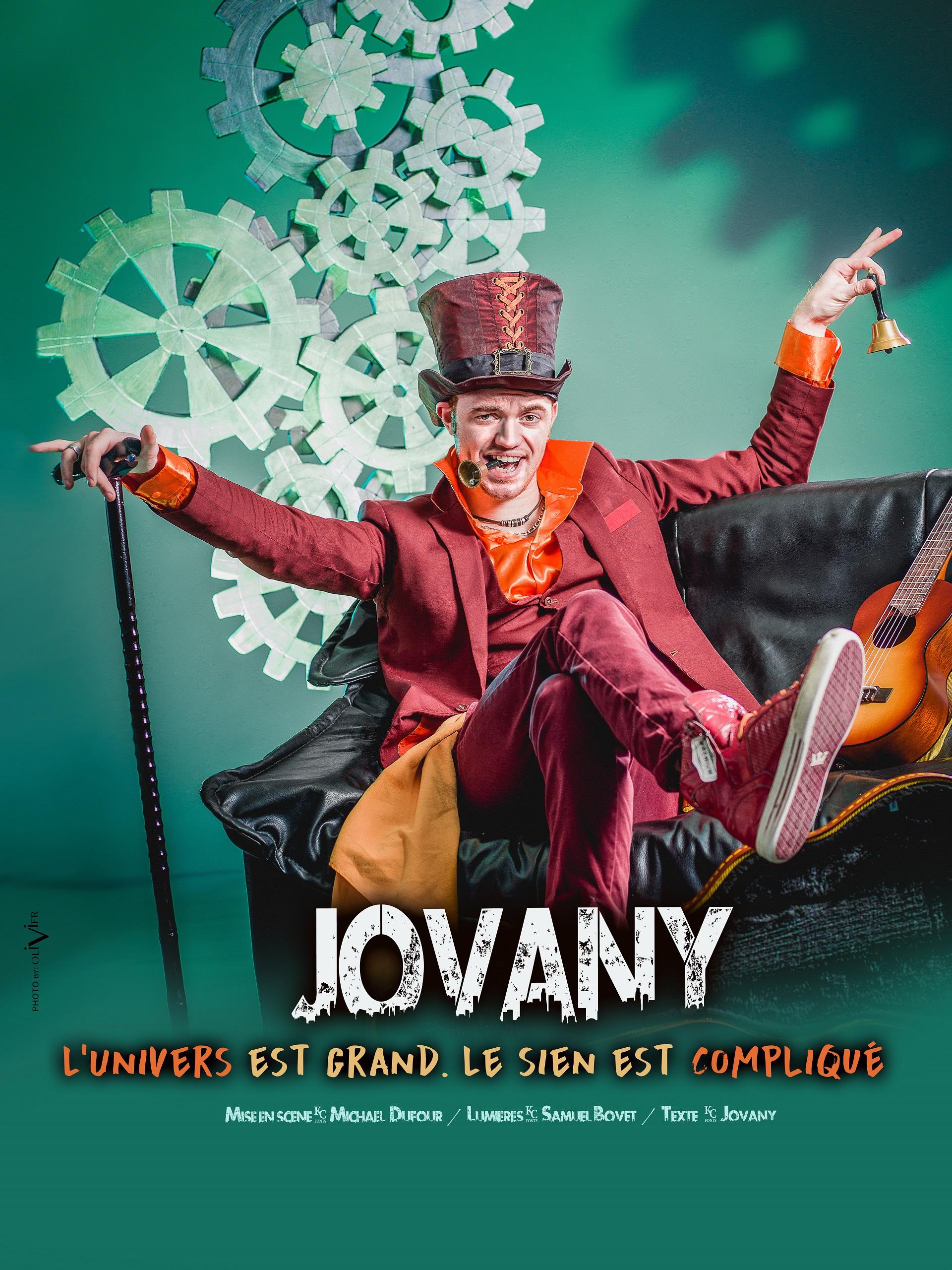Jovany dans L'univers est grand le sien est compliqué