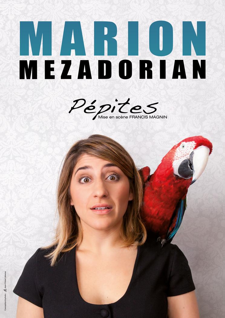 Marion Mezadorian et Francis Magnin dans Pépites