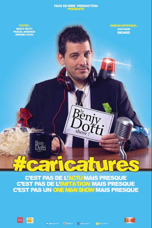 Benjy Dotti dans Caricatures