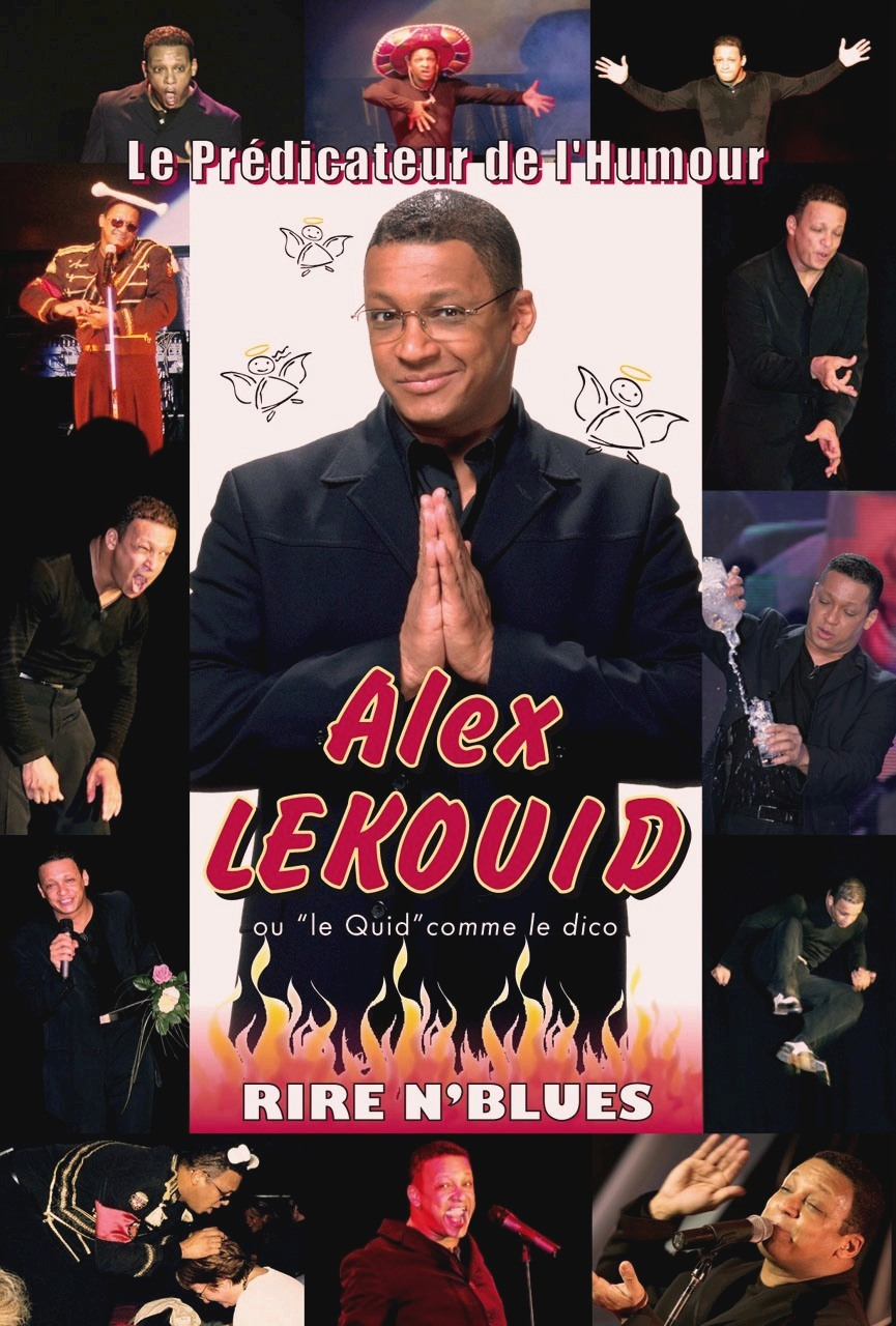 Alex Lekouid dans Le prédicateur de l'humour