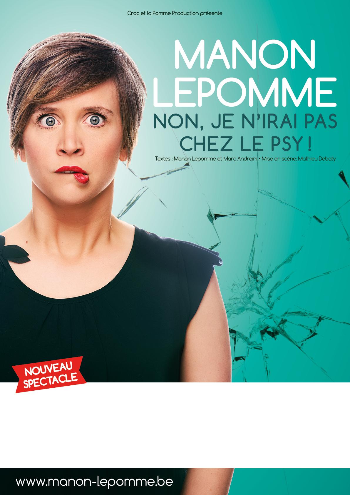 Manon Lepomme et Marc Andreini dans Non je n'irai pas chez le psy