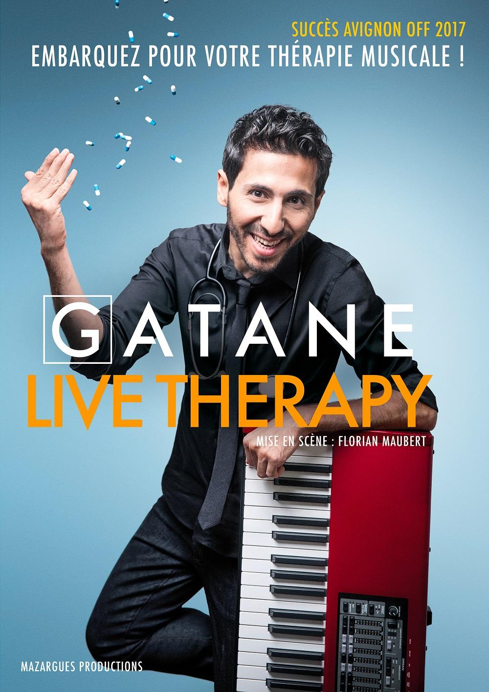 Gatane dans Live Therapy