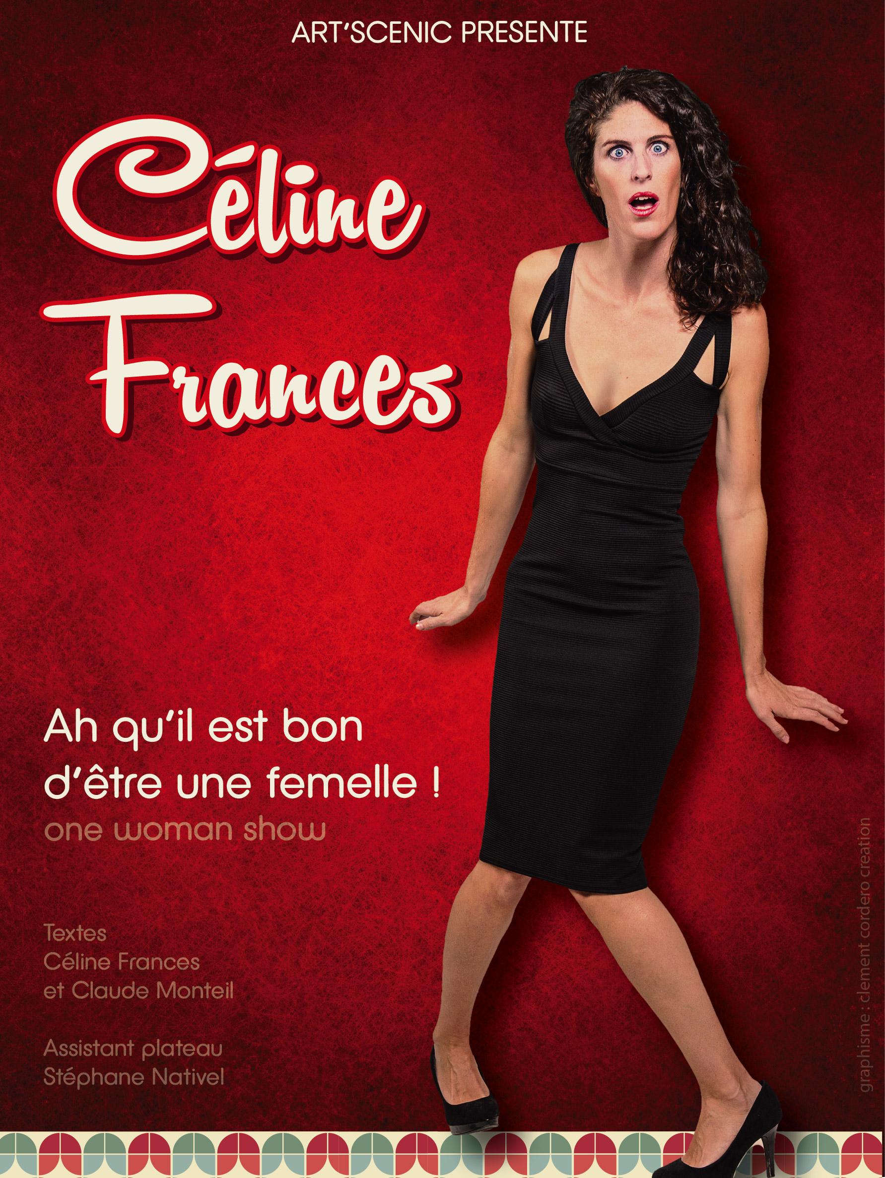 Céline Francès et Claude Monteil dans Ah qu'il est bon d'être une femelle