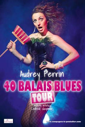 Audrey Perrin dans 40 balais blues tour