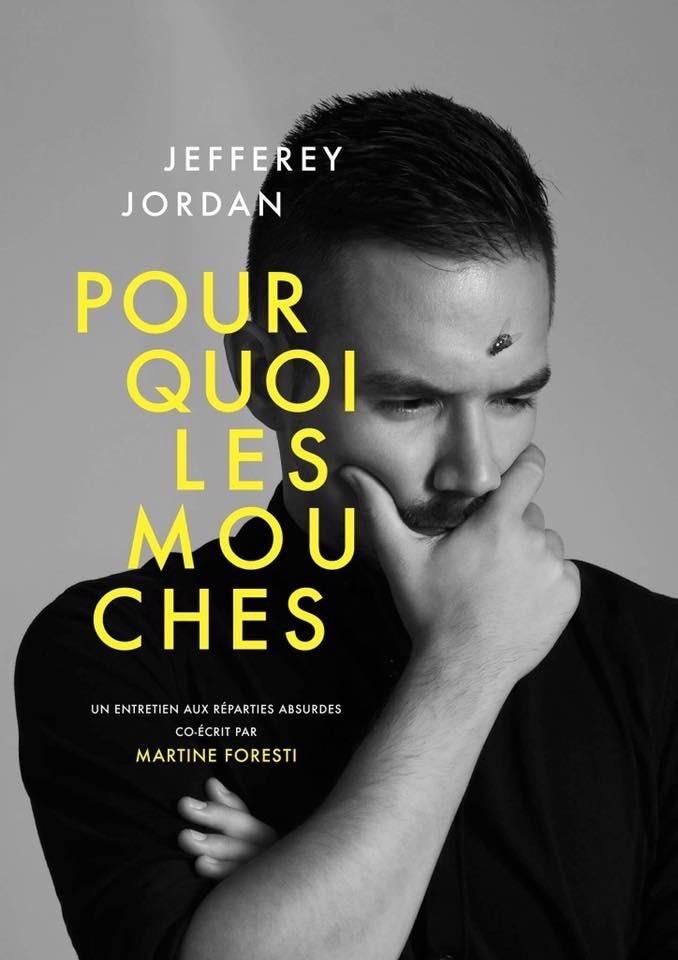 Martine Foresti et Jefferey Jordan dans Pourquoi les mouches