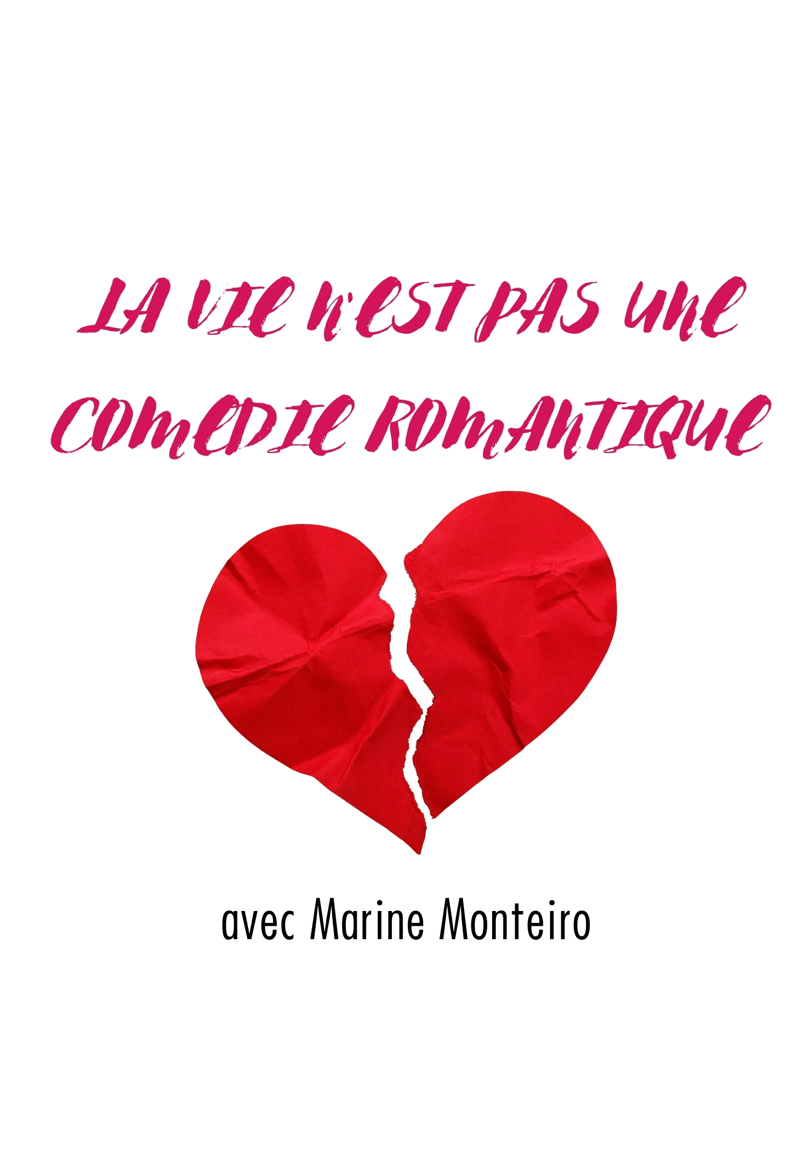 Laurent Pit et Marine Monteiro dans La vie n'est pas une comédie romantique