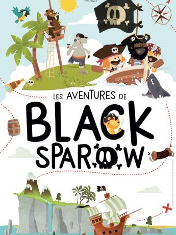 Nilson José dans Les Aventure de Black Sparrow