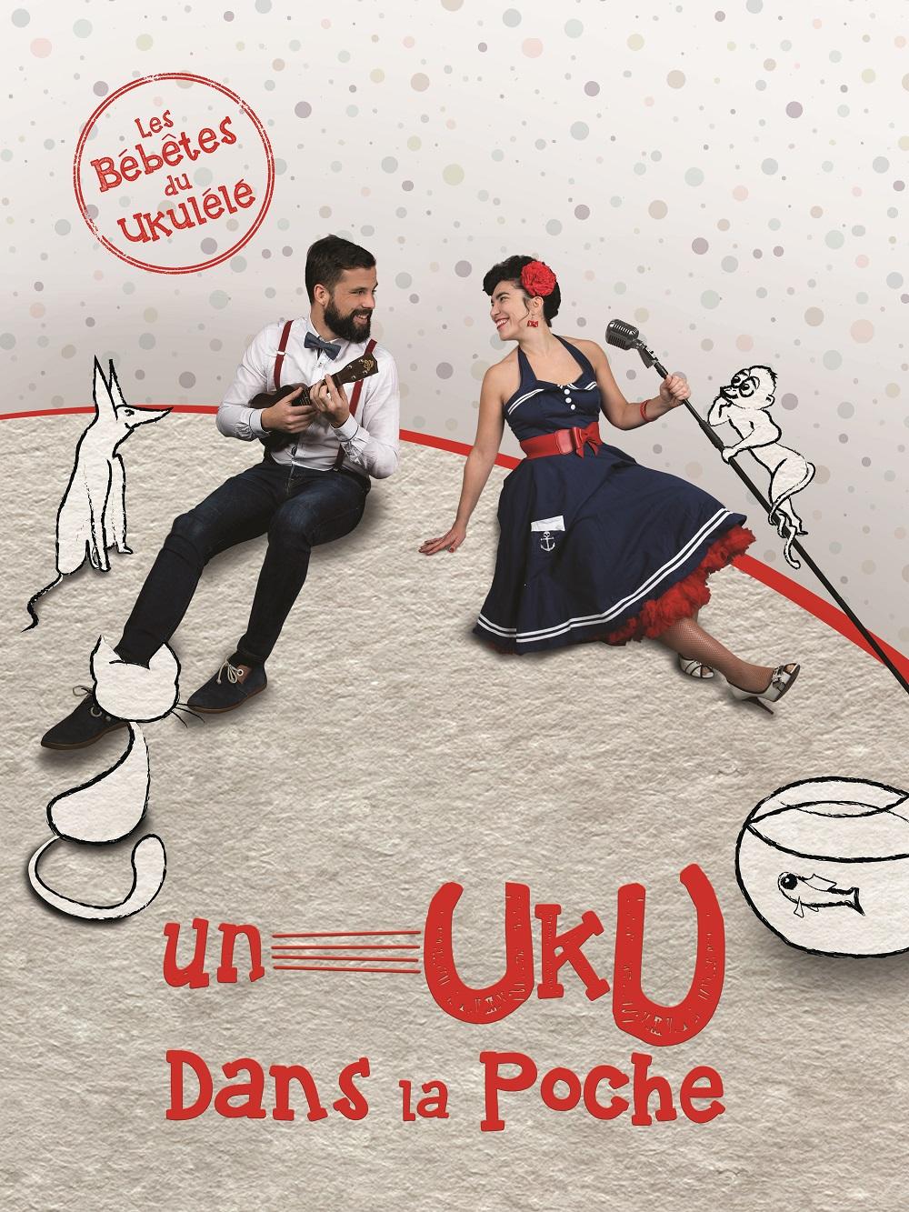 Karine Hurstel et Hadrien Albouy dans Un uku dans la poche
